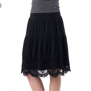 Prana Skirt Lace Bottom